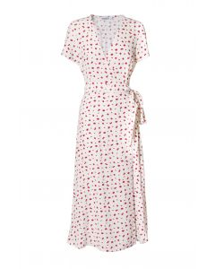 Métropole Bobbie Long White Flower Dress